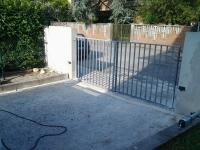 cancello da automatizzare a Cerese