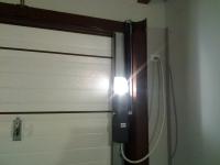 interno porta basculante automatica
