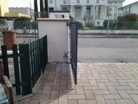 dopo: cancello a battente funzionante