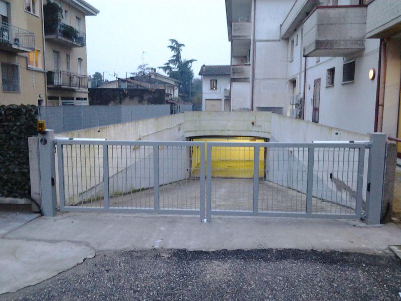 Installazione automatismo nuovo cancello a battente - Porta mantovana ...