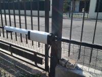 Dettaglio motore cancello automatizzato