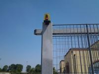 Nuovo lampeggiante cancello scorrevole