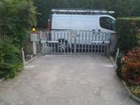motore installato cancello a battente