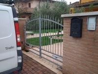 cancello a battente chiuso
