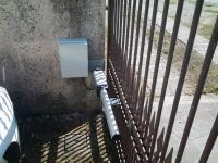 altro battente del cancello