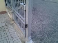 Cancello scorrevole malfunzionante