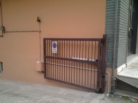 DOPO: cancello automatico aperto