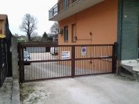 DOPO: cancello automatico chiuso
