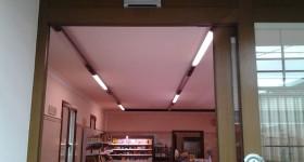 Installazione nuovo motore porta automatica negozio a Campitello (MN)