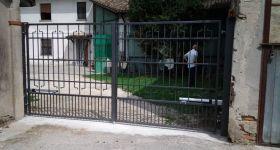 Automazione su cancello a battente a Tornata (CR)